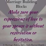 Marriage - Expression of Love