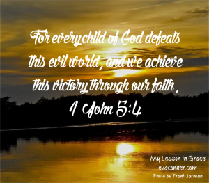 1 John 5 4