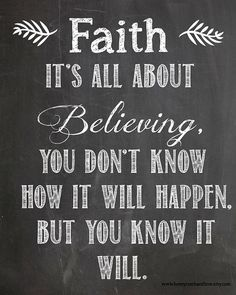 faithbelief