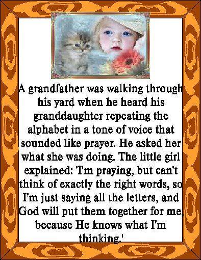 Alphabet Prayer
