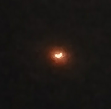 Eclipse by phone