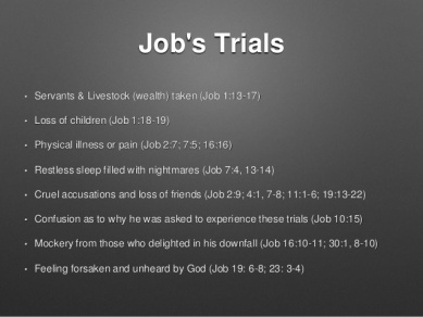 Jobs trials