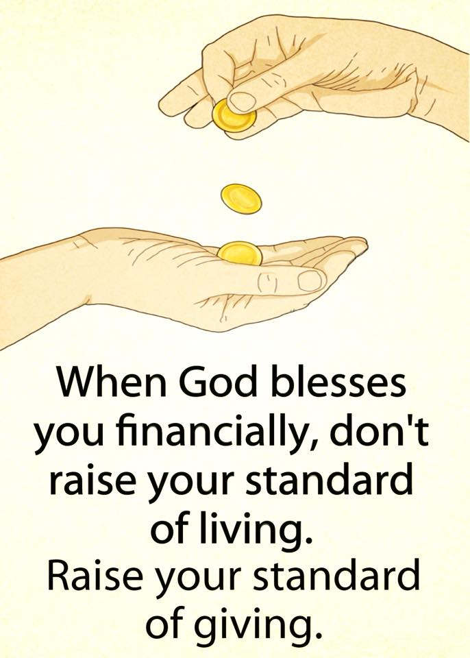 RaiseyourstandardofGiving