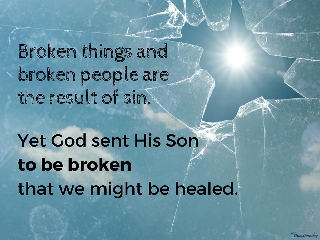 Bible-brokenness
