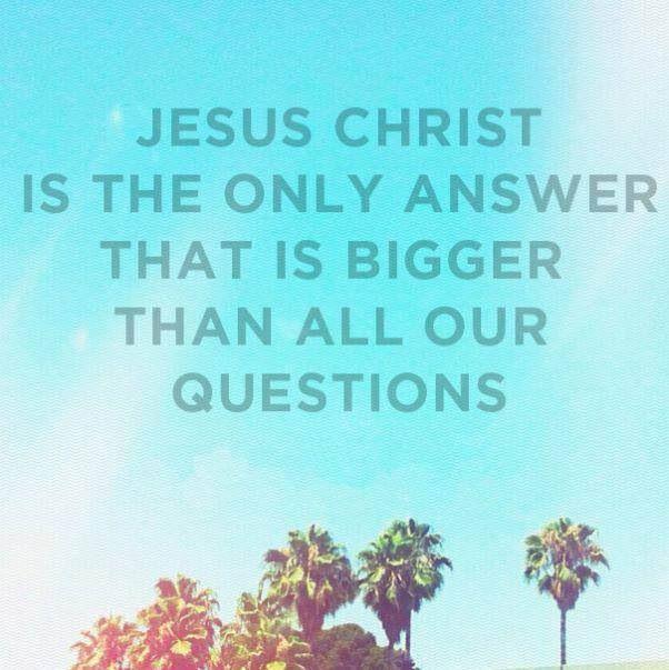 JesusistheAnswer