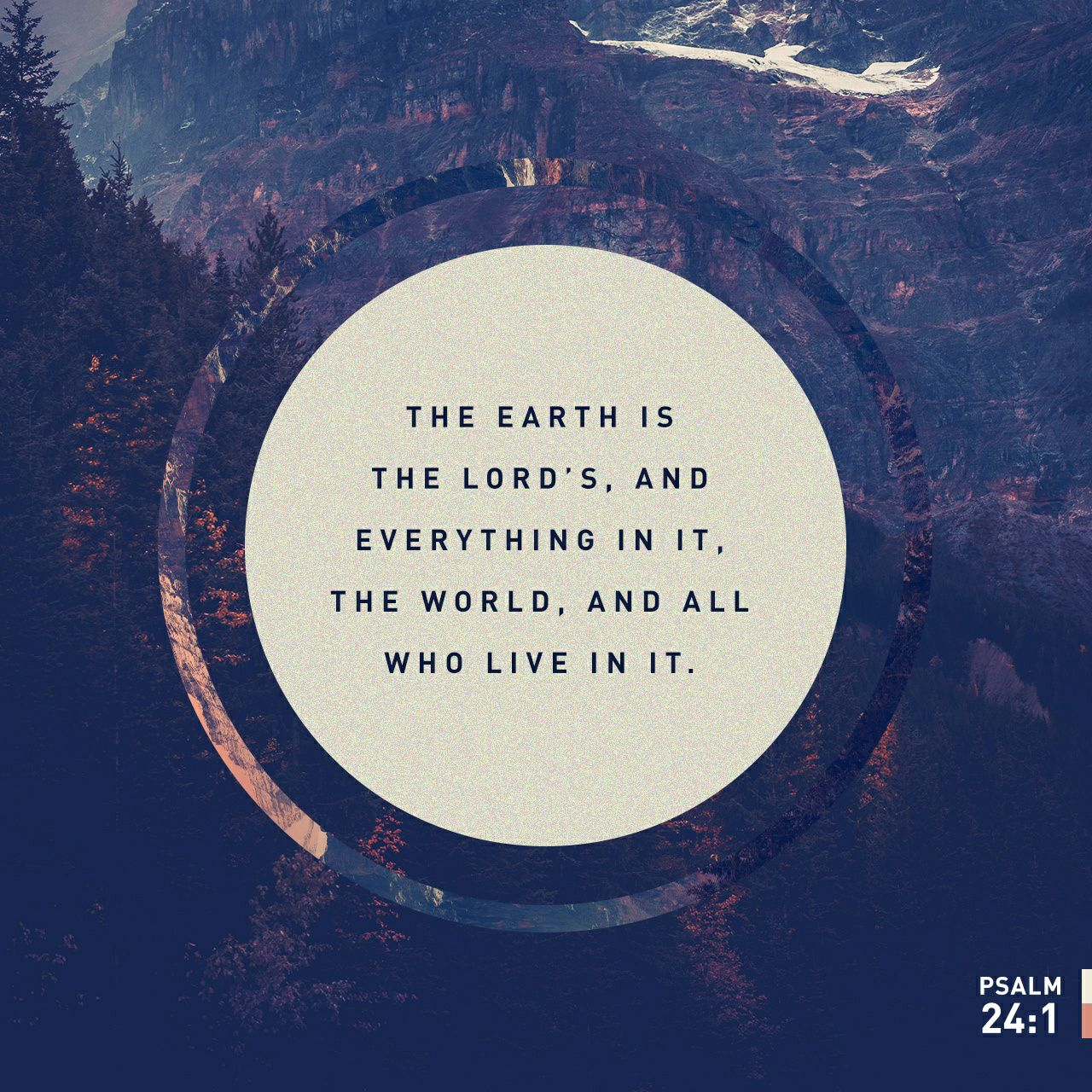 The Earth Is The Lord S The Living Message Of Christ